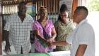 Vice Chair NRDDB Bertie Xavier interacting V Benn sm